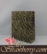 Taskertas motif zebra (20x8x25)cm