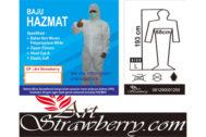 Baju Coverall HAZMAT Lengkap
